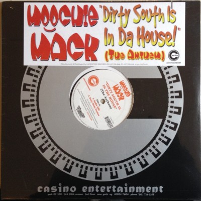 Moochie Mack - Dirty South Is In The House