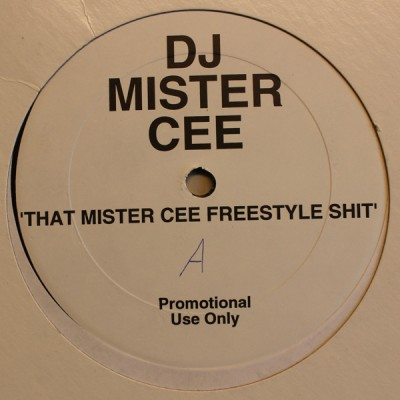 DJ Mister Cee - That Mister Cee Freestyle Shit