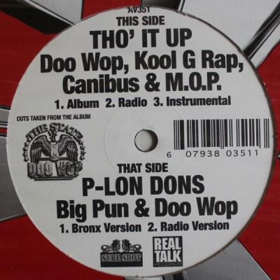 Doo Wop - Tho' It Up