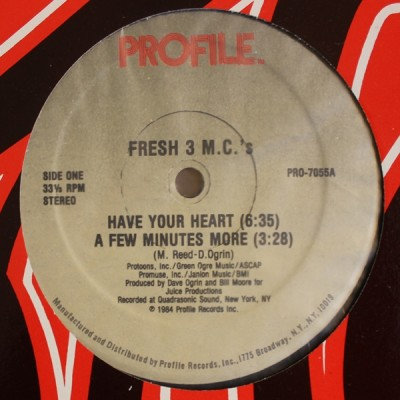 Fresh 3 MC's - Have Your Heart