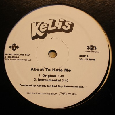Kelis - About To Hate Me