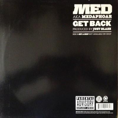 Medaphoar - Get Back