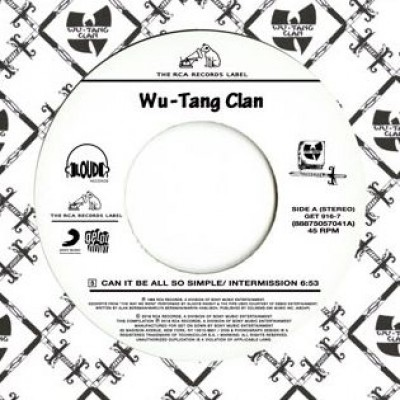 Wu-Tang Clan - Can It Be All So Simple / Da Mystery Of Chessboxin'