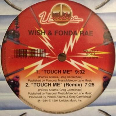 Wish & Fonda Rae / La-Rita Gaskin - Touch Me / Nice & Soft