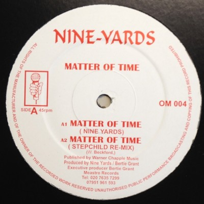Nine Yards - Matter Of Time