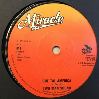 Two Man Sound - Que Tal America