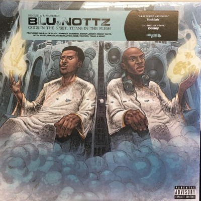 Blu And Nottz - Gods In The Spirit, Titans In The Flesh