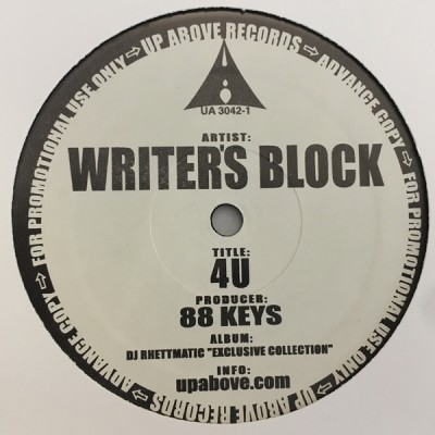 Visionaries / Writer's Block - Hindsight / 4U