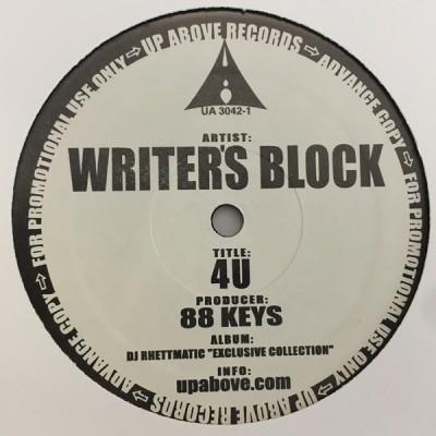 Visionaries / Writer's Block - Hindsight / 4U