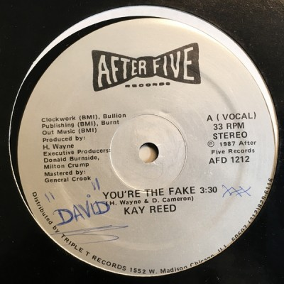 Kay Reed - You're The Fake