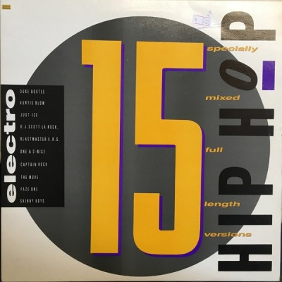 Various - Street Sounds Hip Hop Electro 15