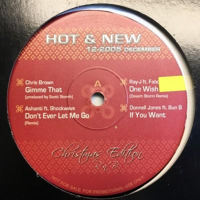Various - Hot & New 12-2005 December Christmas Edition R'n'B