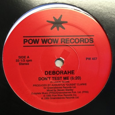 Deborahe Glasgow - Don't Test Me