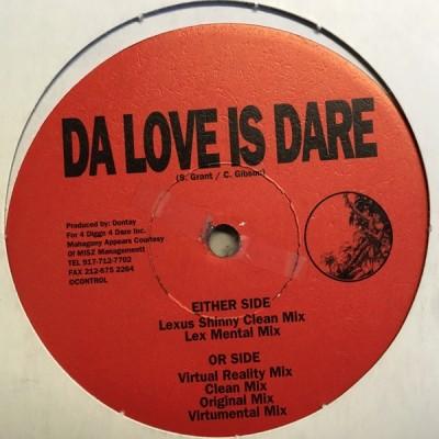 Dontay Presents Mahagony - Da Love Is Dare