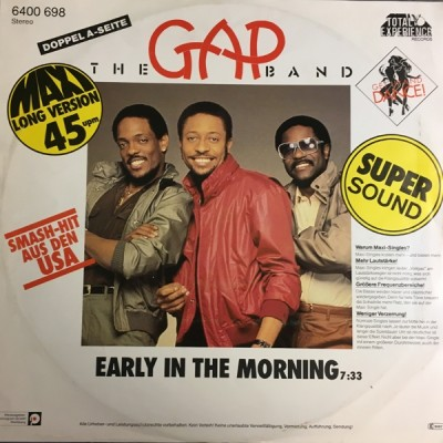 The Gap Band - You Dropped A Bomb On Me / Early In The Morning