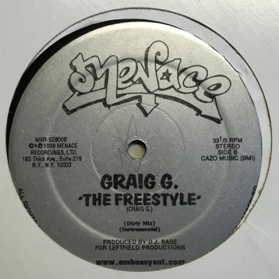 Craig G - Depopulator / The Freestyle