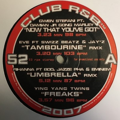 Various - Club R&B 52