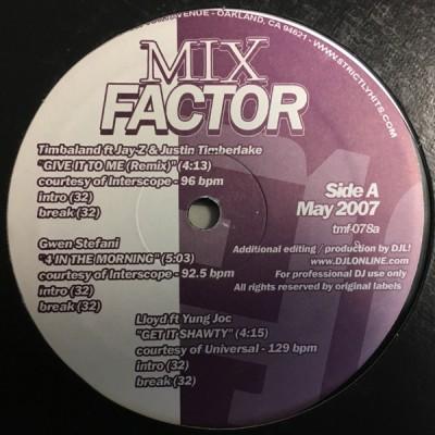 Various - Mix Factor Volume 78 (May 2007)