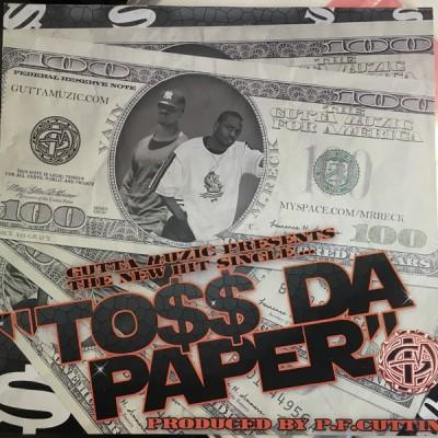 Mr. Reck & Vain - Toss Da Paper