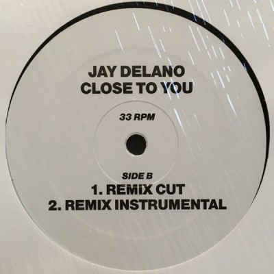 Jay Delano - Close To You