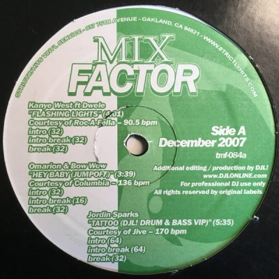 Various - Mix Factor Volume 84 (December 2007)