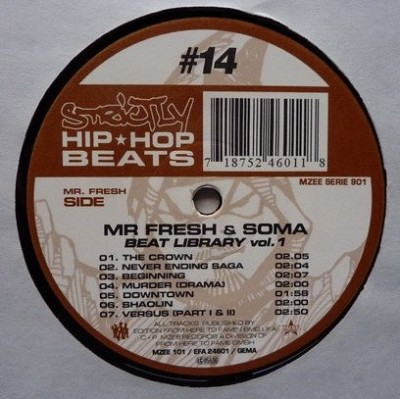 Mr. Fresh & Soma - Beat Library Volume 1