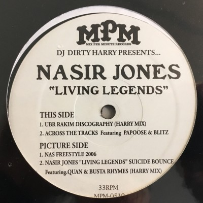 Dirty Harry Presents... Nasir Jones - Living Legends