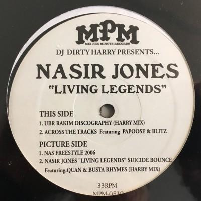 Dirty Harry Presents... Nasir Jones - Living Legends