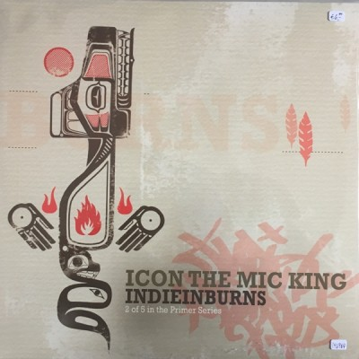 Icon The Mic King - IndieInBurns