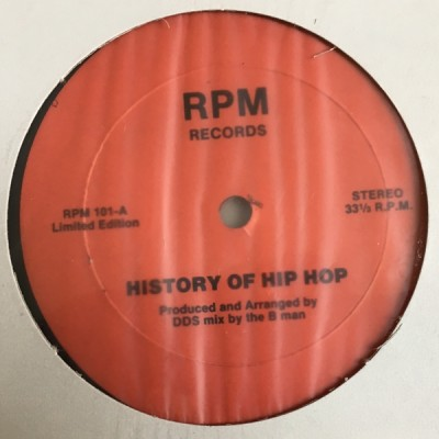Double Dee & Steinski - History Of Hip Hop