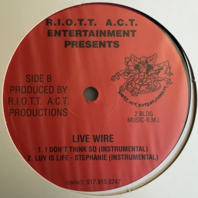 Live Wire - I Don't Think So