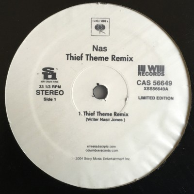 Nas - Thief Theme Remix