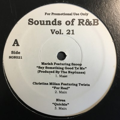 Various - Sounds Of R&B Vol.21