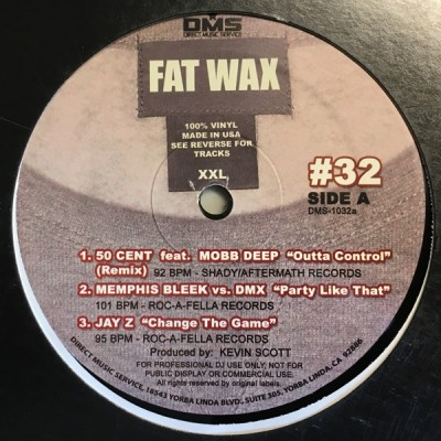 Various - Fat Wax #32