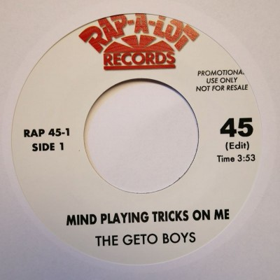 GETO BOYS - Mind Plain Tricks On Me (45 EDIT) / Mind Of A Lunatic (45 Edit)