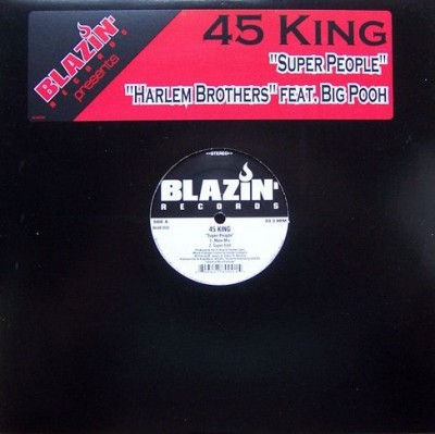 The 45 King - Super People / Harlem Brothers