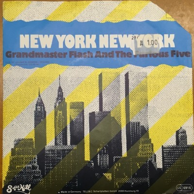 Grandmaster Flash & The Furious Five - New York New York