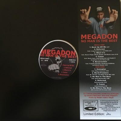 Megadon - No Man Is The Best