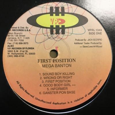 Mega Banton - First Position