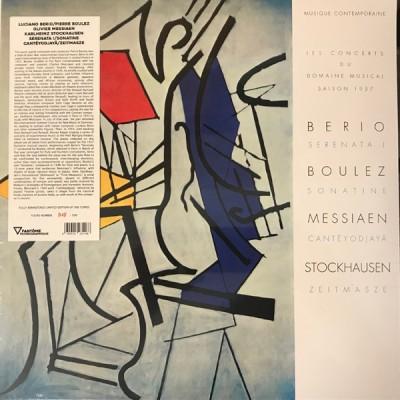 Luciano Berio - Serenata I / Sonatine / Cantéyodjayâ / Zeitmasze