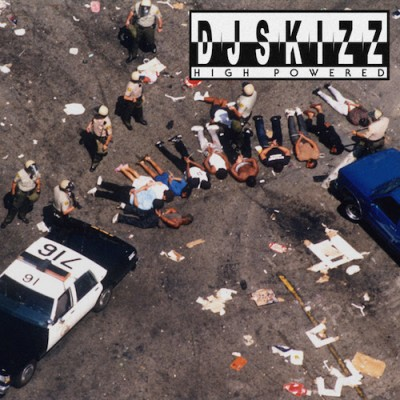 DJ  Skizz - High  Powered (Colored Vinyl Version)