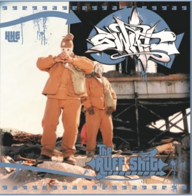Swift - The Ruff Shit (Blue Suede With Black Splatters Coloured Vinyl)