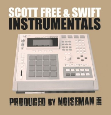 Scott Free & Swift - Instrumentals LP (Black Vinyl)