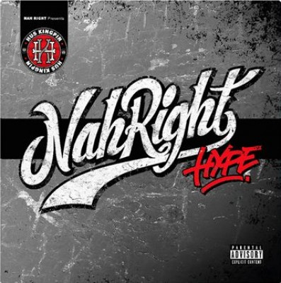 Hus Kingpin - Nah Right Hype (silver marble vinyl)
