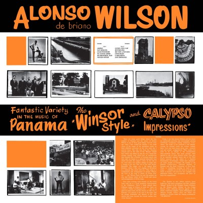 Alonso Wilson De Briano - Fantastic Variety In The Music Of Panama - The Winsor Style And Calypso Impressions