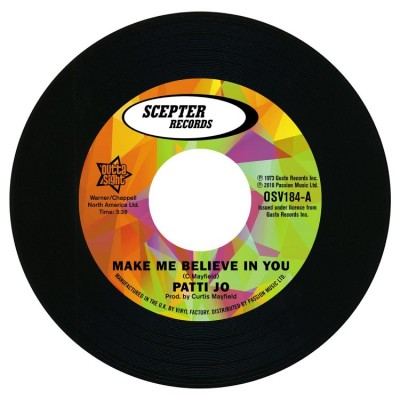 Patti Jo - Make Me Believe In You/Stay Away From Me