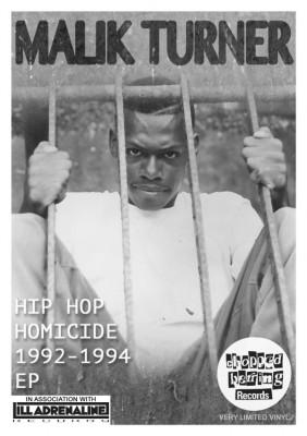 Malik Turner - Hip Hop Homicide EP