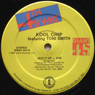 Kool Chip Featuring Toni Smith - Jazz It Up