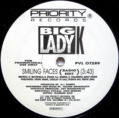 Big Lady K - Smiling Faces