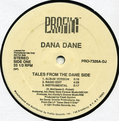 Dana Dane - Tales From The Dane Side